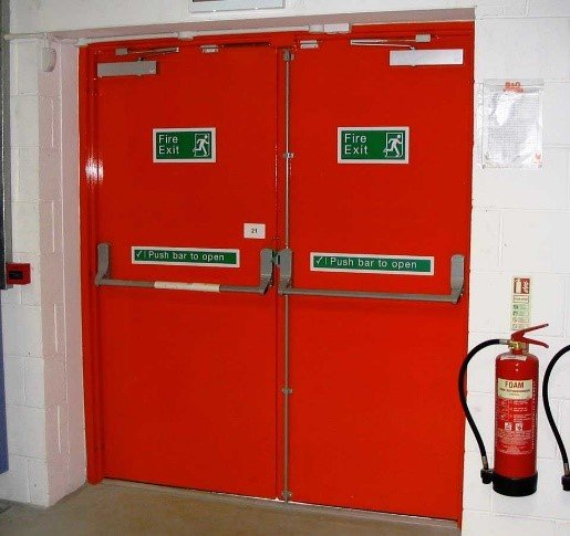 A fire and smoke door is what is known as a passive fire protection device. Passive fire protection uses different types of products that are built into the ... & Fire Doors Sydney | Fire Safe